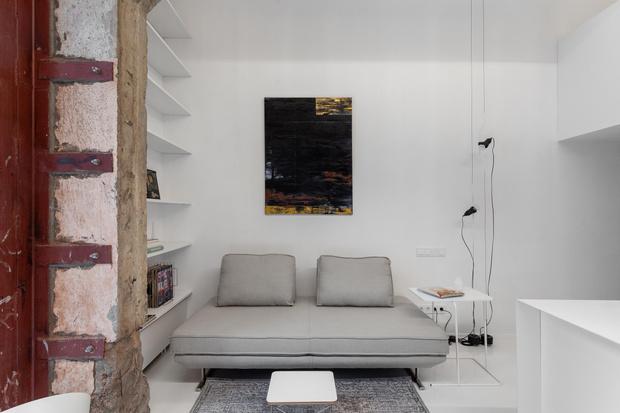 Фото №3 - Светлая квартира 36 м² со спальней на антресоли