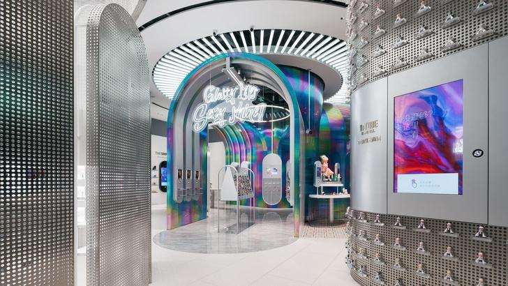 Фото №1 - Интерактивный магазин косметики в Китае