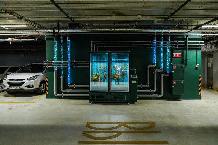 Фото №1 - Инсталляция Марины Звягинцевой «Water линия» в «Зарядье»