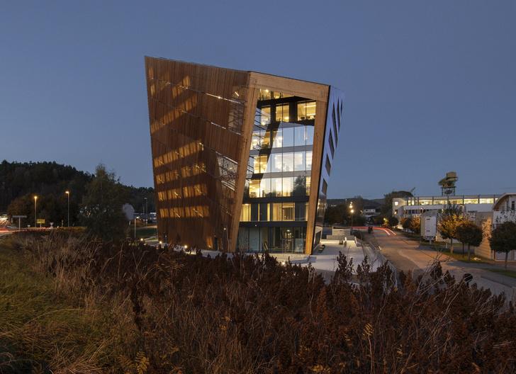 Фото №2 - Энергопозитивный офис по проекту Snøhetta в Норвегии