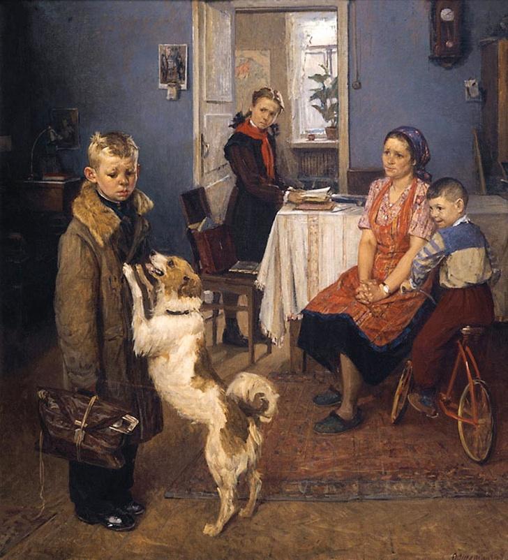 Фото №1 - Тест: Знаешь ли ты, как правильно называются знаменитые картины русских живописцев?