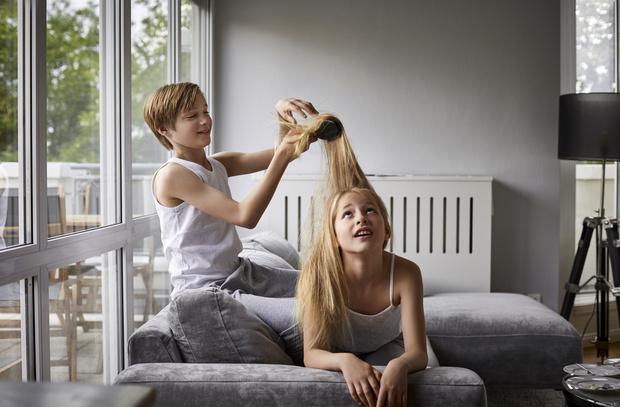 Фото №1 - Как определить, какой цвет волос будет у ребенка