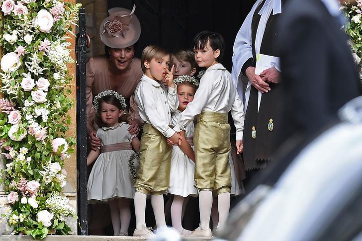 Кейт Миддлтон с детьми фото