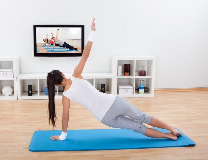 Домашний фитнес - самый доступный