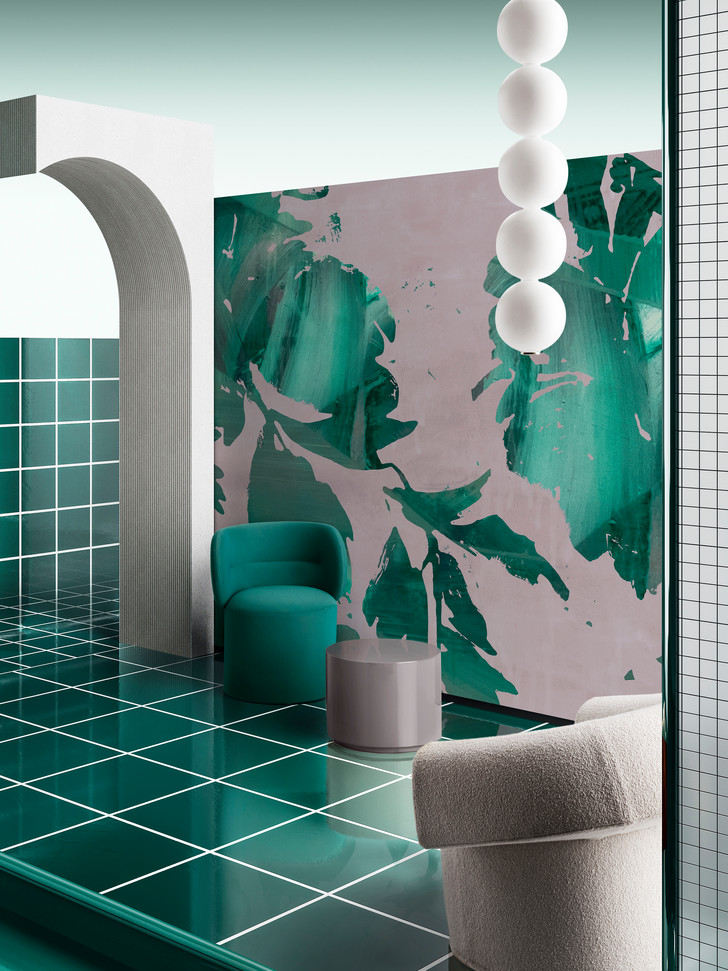 Фото №1 - Новая коллекция обоев Draga & Aurel для Wall & Decò