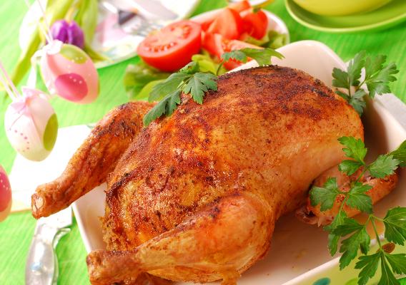 Фото №1 - Пасхальная курица: рецепты праздничного блюда