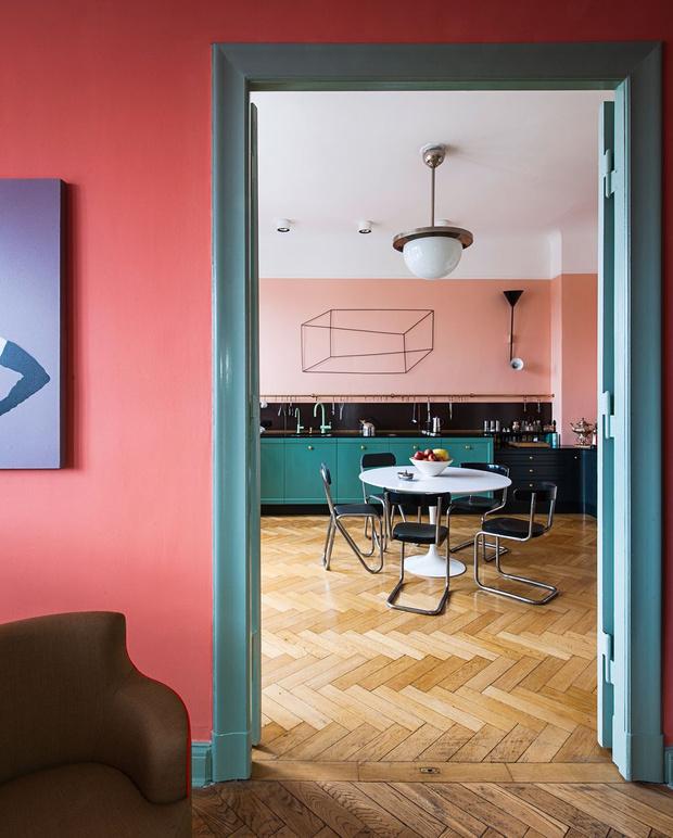 Фото №5 - Маленькая квартира с ярким характером в Берлине