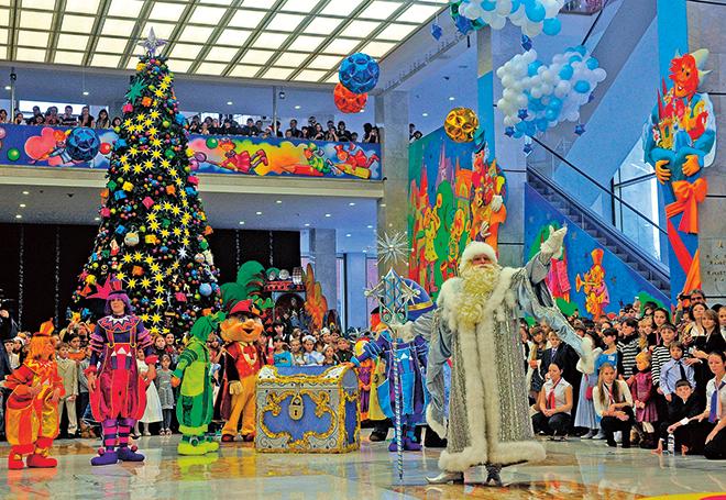 «Хоровод у новогодней елки»