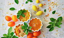 Мармеладный соус из имбиря и цитрусовых