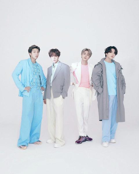 Поп-группа BTS