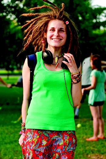 Катя, 16 лет: «Важно, что ты дредастый и у тебя всегда хорошее настроение»