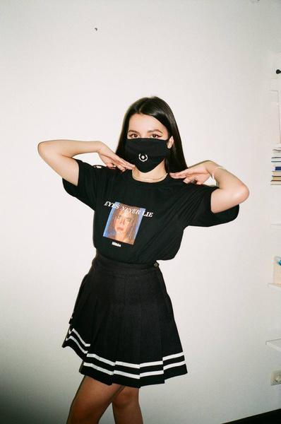 Фото №1 - Девочка в маске: блиц-интервью с Аминой Tenderlybae 💕
