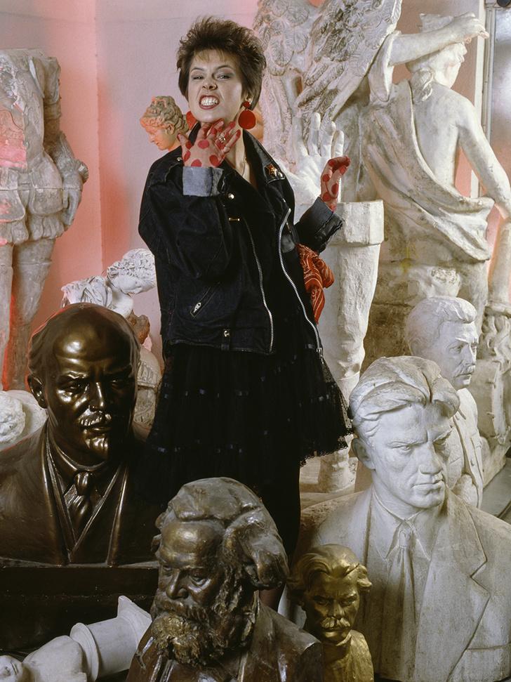 Фото №3 - «Красные звезды перестройки»: популярные советские актрисы в съемке американского фотографа, 1988 год