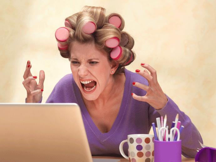 Злость в интернете