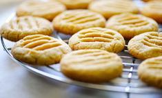 Простое печенье без масла и маргарина