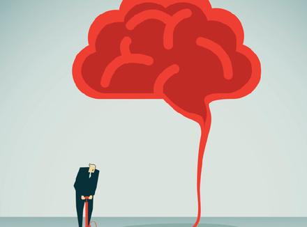 Человек «накачивает» мозг