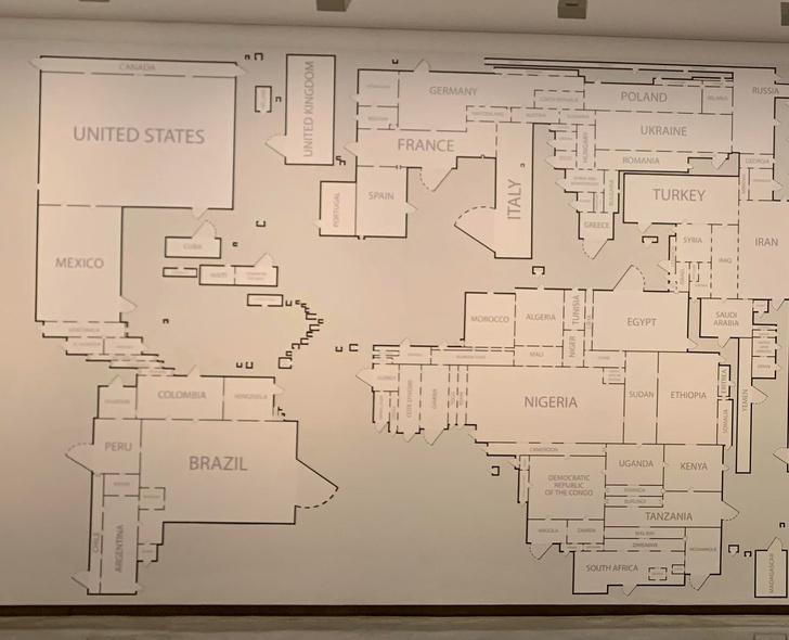 Фото №2 - Карта: Если бы мир был коммунальной квартирой