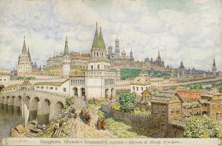 Фото №1 - Выставка «Большой Каменный мост»в Музее Москвы