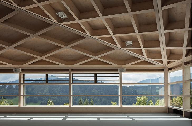 Фото №5 - Теннисные корты с ромбовидными потолками