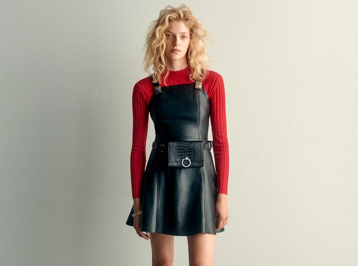 Фото №1 - Универсальный красный: как носить вещи Claudie Pierlot в яркой палитре