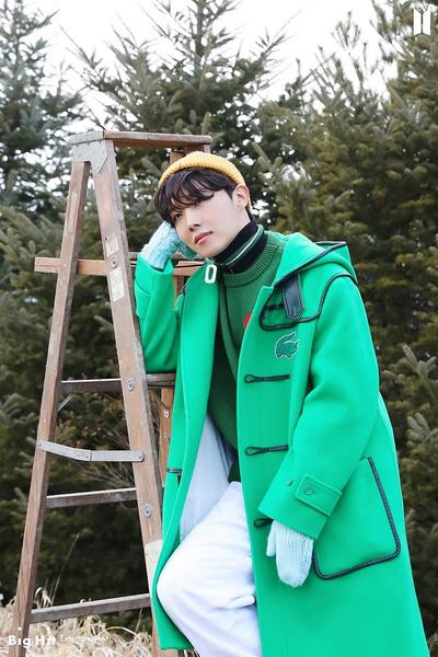 Фото №19 - Снежные ангелы: Big Hit Entertainment выложил 65 новых фото BTS 😍