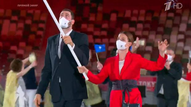 Фото №4 - Танцы ча-ча-ча, выступление актеров кабуки: как прошло открытие Олимпиады-2020 [прямая трансляция]