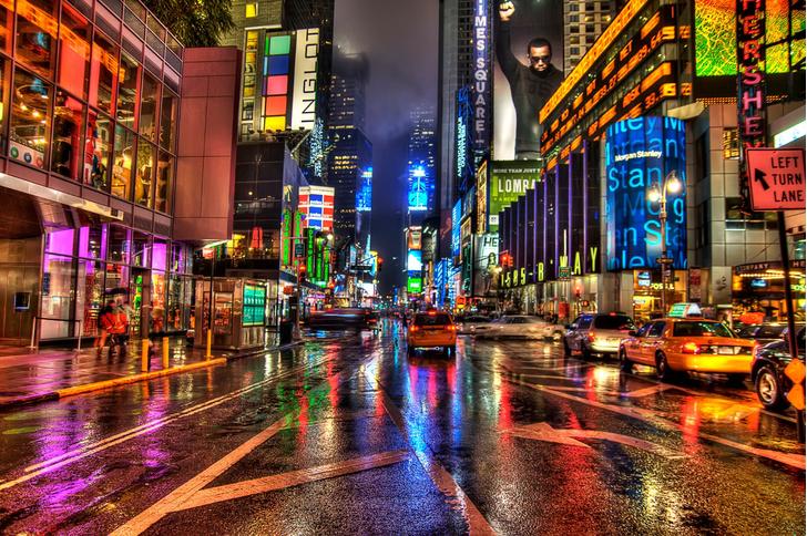 Нью-Йорк, Таймс-сквер