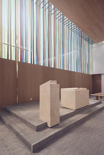 Фото №5 - Минималистская церковь во Франции: проект Enia Architectes