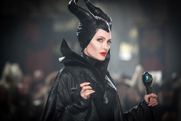 Малефисента в исполнении Анджелины Джоли