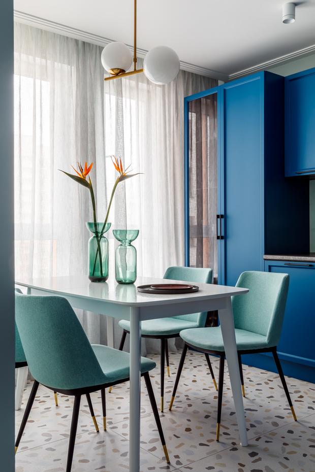 Фото №3 - Всплеск цвета: яркая квартира 81,6 м²