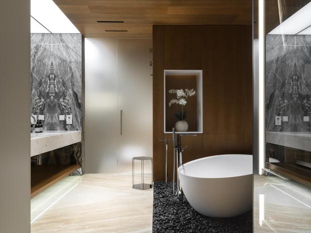 Фото №11 - Московская квартира 222 м² в стиле роскошный минимализм