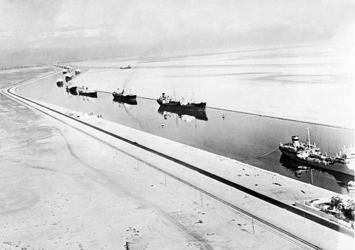 Фото №8 - 12 глубоководных фактов о Суэцком канале— главной морской срезке в истории человечества