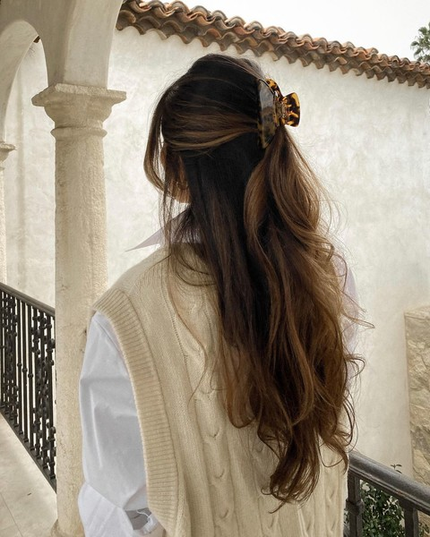 Фото №3 - Модные прически для длинных волос: тренды 2021
