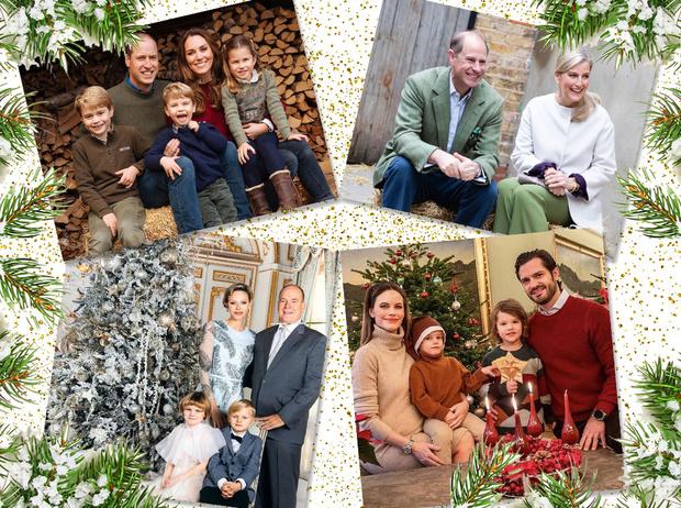 Фото №1 - Самые милые (и долгожданные) рождественские королевские открытки 2020 года