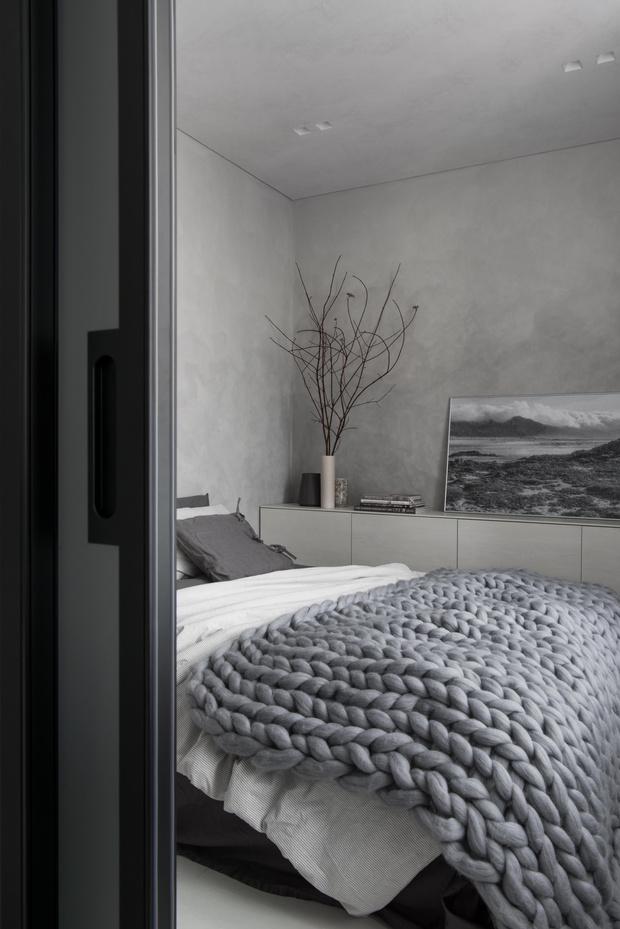 Фото №7 - Московская квартира 56 м² в серых тонах