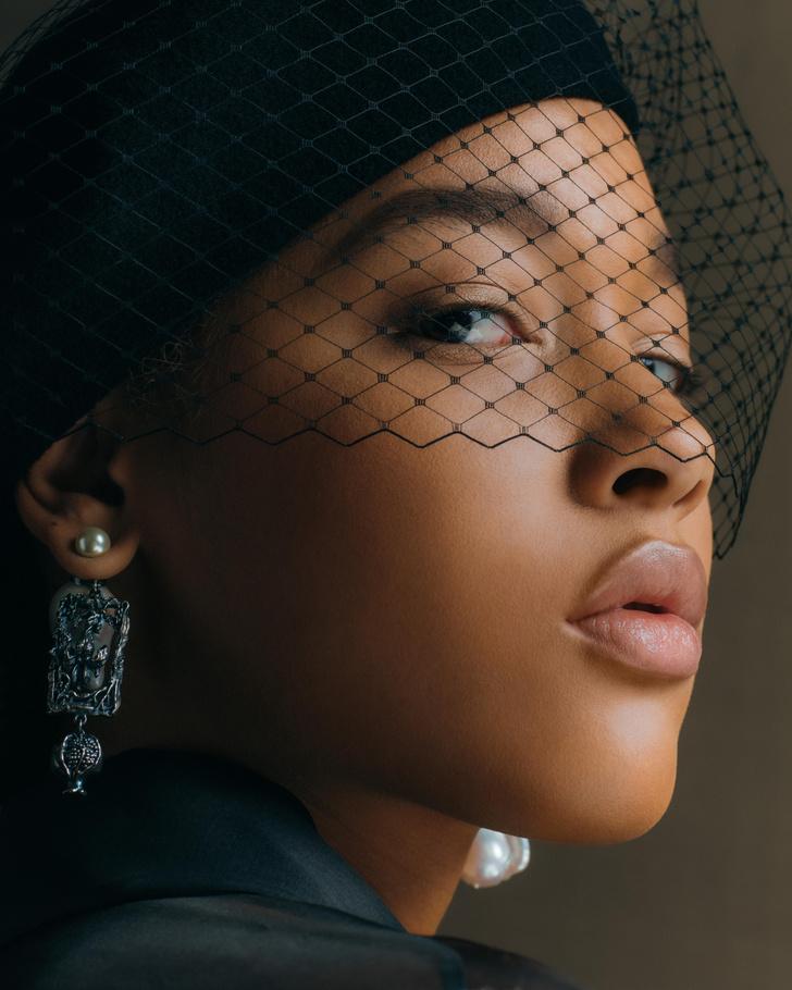 Фото №3 - Самые красивые бьюти-образы Dior Haute Couture SS21
