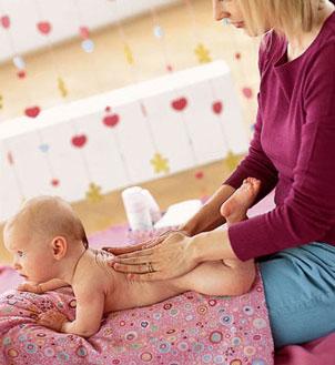 Фото №1 - Индийский массаж для новорожденного