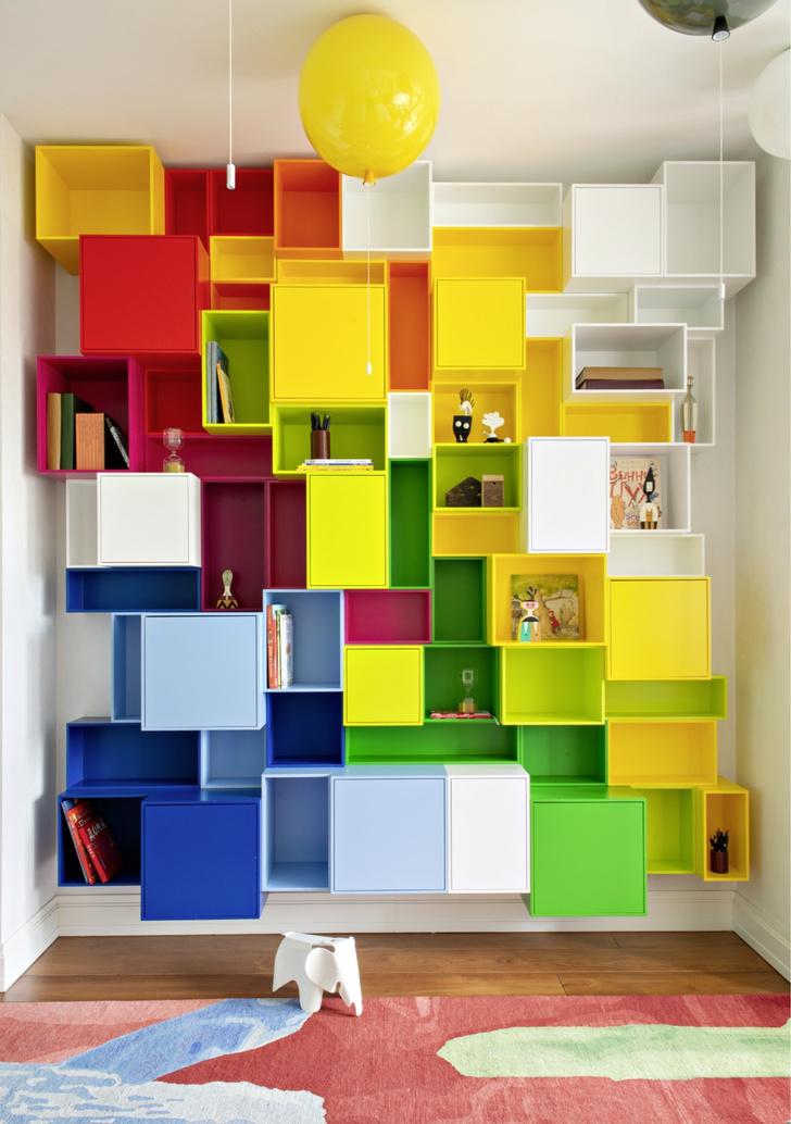 Colour Magic: яркая квартира в центре Москвы (фото 12)