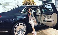 Ирина Дубцова стала хозяйкой роскошного автомобиля