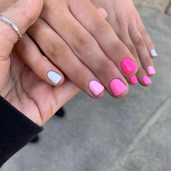 Фото №6 - Яркий маникюр: 12 летних идей для коротких ногтей