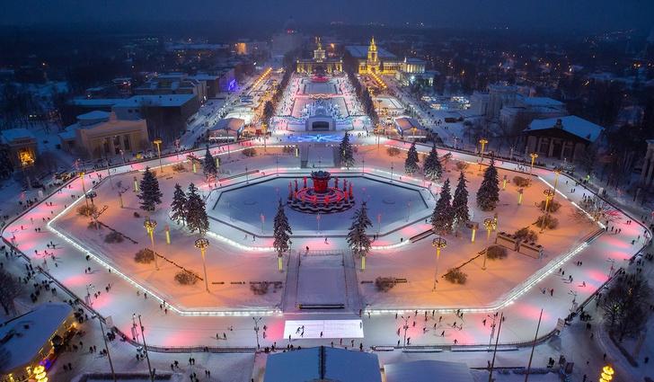 Фото №3 - Где кататься на лыжах и коньках в Москве