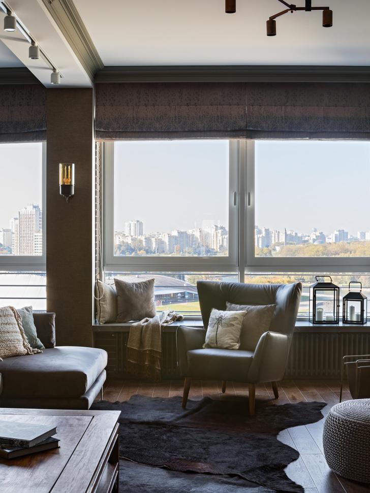 Фото №6 - Эклектичная квартира 150 м² с видом на реку в Минске