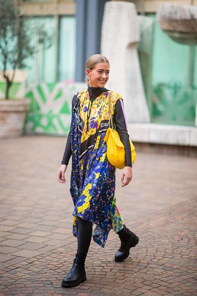 Фото №14 - Уроки стритстайла: как носить желтый