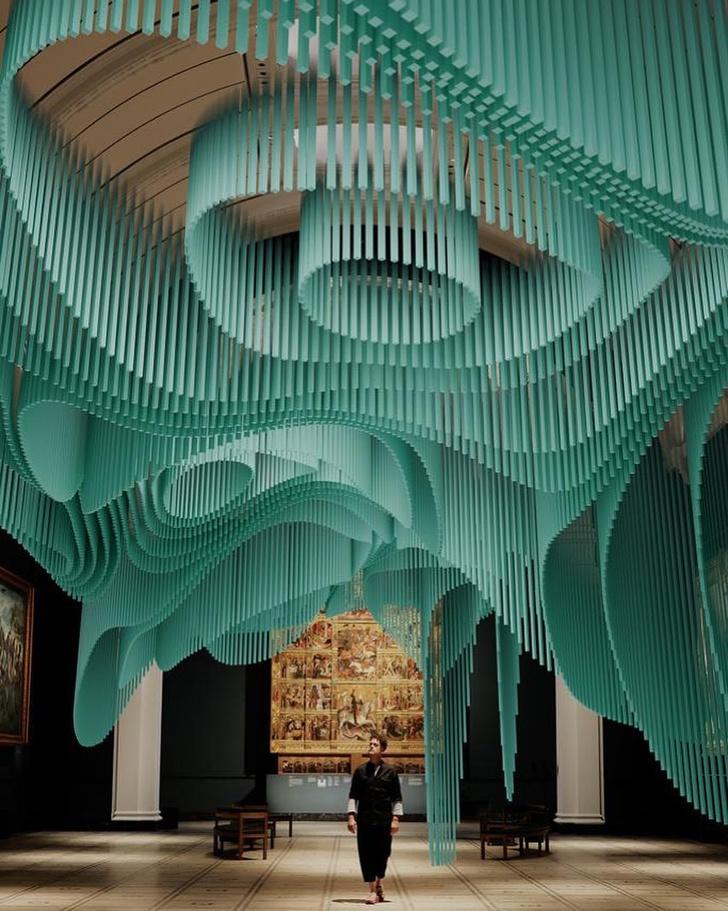 Фото №1 - «Медуза» Су Фудзимото в лондонском Музее Виктории и Альберта