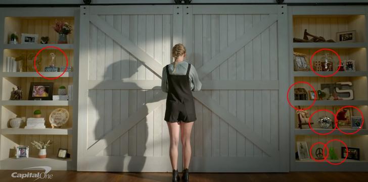 Фото №1 - Тейлор Свифт снялась в рекламе и даже там умудрилась оставить пасхалки