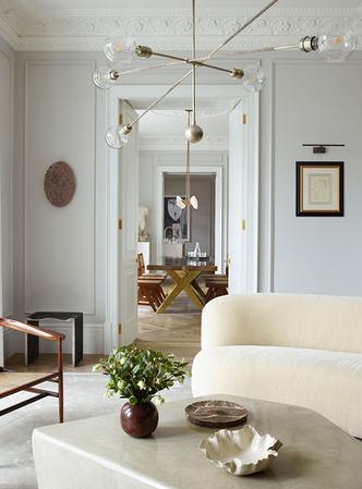 Фото №2 - Светлая квартира с винтажной мебелью в Лондоне