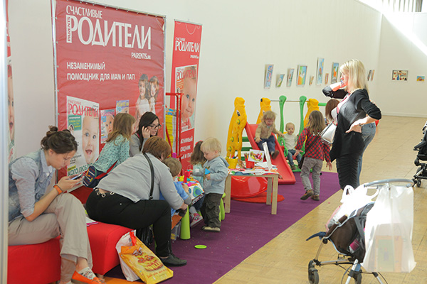 Фото №2 - Журнал «Счастливые родители» на фестивале «СТАРТ АП»