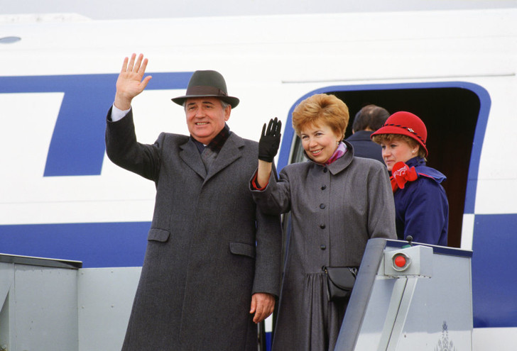 Михаил Горбачев и Раиса Максимовна фото