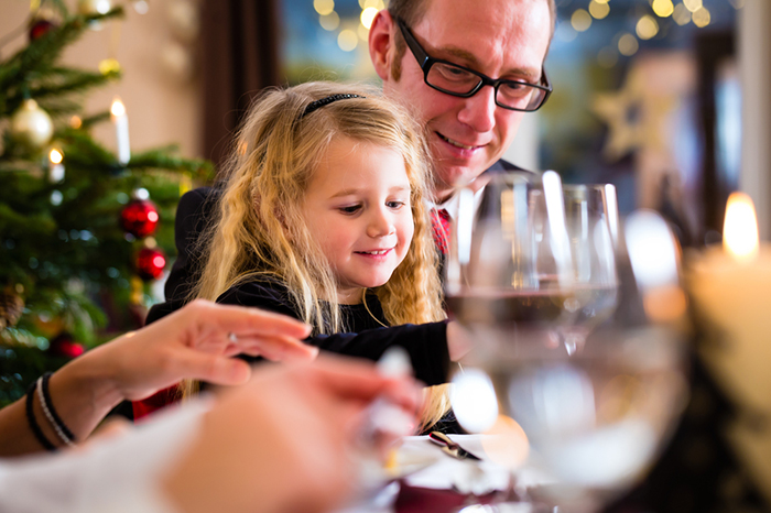 Фото №1 - Новогоднее застолье для детей