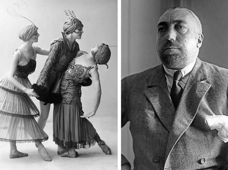 Фото №1 - Король стиля: как Поль Пуаре придумал «хромые юбки», освободил женщин от корсетов и заново изобрел моду
